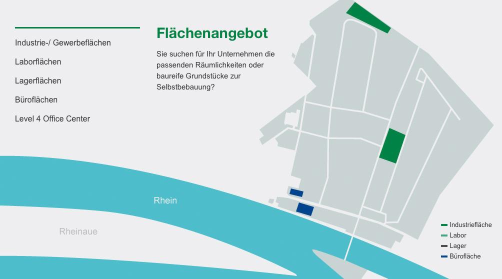 InfraServ Wiesbaden Interaktive Karte