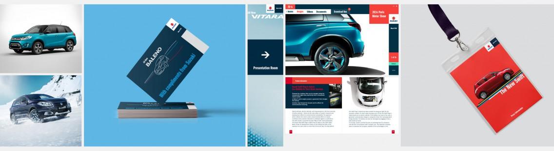 Suzuki Projekte screens