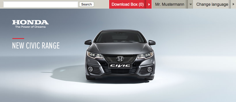 Honda Media Newsroom Assets