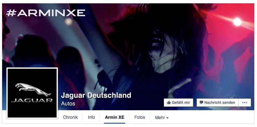 Jaguar XE Facebook Header Assets