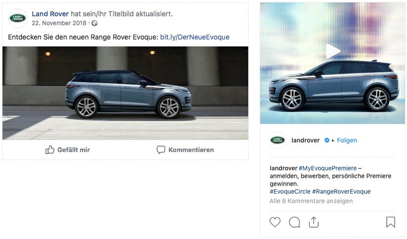 Screenshots Social Media
